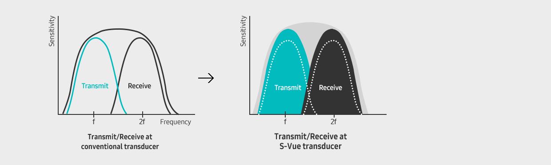 Amostra do transdutor S-Vue