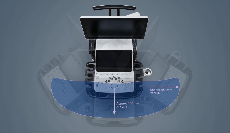 ECOGRAFO SAMSUNG HERA W10