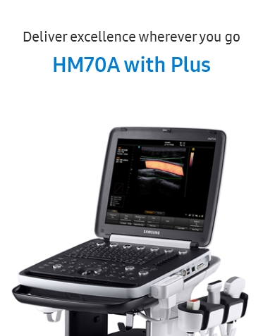 Deliver excellence wherever you go, HM70A with Plus